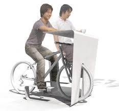 Chair Cycle Store Muu U0027s U0027cycle In U0027 Desk Transforms Your Bike Into A Chair