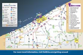 Map Of New York And Pennsylvania by Get Around Visiterie