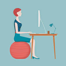 Yoga Ball As Desk Chair Stability Ball Vs Standard Office Chair Which Is Best Throughout