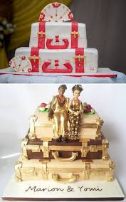 traditional wedding cakes stacked luggage cakes for traditional weddings in nigeria bottom