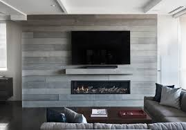 board formed concrete fireplace toronto anthony concrete design