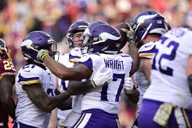 minnesota vikings 38 washington redskins 30 vikings hold on for