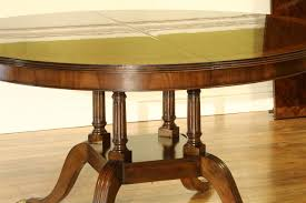 american made dining room furniture traditional american made round to oval mahogany pedestal table