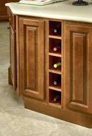 under counter 6 bottle wine rack with stemware holder under