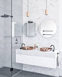 Blue And White Bathroom Accessories by 25 Best Copper Bathroom Ideas On Pinterest Baths Gold Bathroom