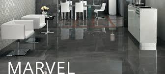 Dark Grey Polished Porcelain Floor Tiles Marvel Pental Surfaces
