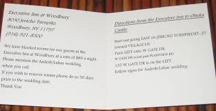 Discover Card Invitation Wedding Invitation Directions Card Wedding Invitation Direction