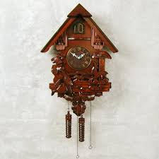 the bird flaps its wings speaking solid wood carving small house