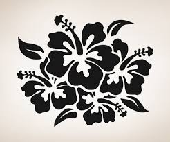amazon com vinyl wall decal sticker hibiscus flowers os aa238b amazon com vinyl wall decal sticker hibiscus flowers os aa238b home kitchen
