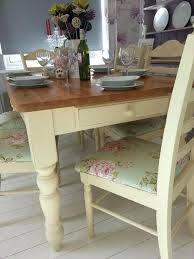 shabby chic farmhouse table shabby chic dining table and chairs set narrg com