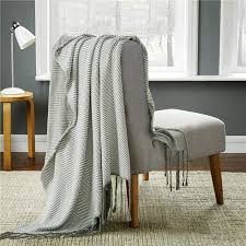 grey tweed sofa aliexpress com buy cozzy decorative throw couch cotton thread