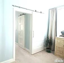 Barn Door Interior Enchanting Sliding Barn Door Interior Extraordinary With Doors For