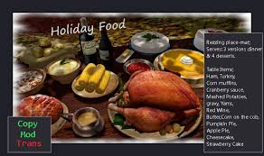 second marketplace be merry thanksgiving food