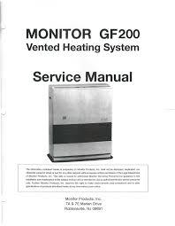 monitor gf 500 service manual