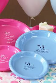 baby plates plastic baby shower plates
