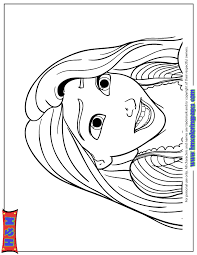 character from tangled movie rapunzel coloring page h u0026 m