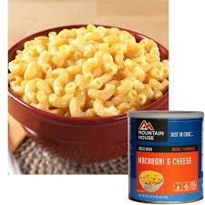 Mountain House Food Mountain House Freeze Dried Macaroni U0026 Cheese 10 Can 30158