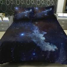 Space Bed Set Anlye Galaxy Quilt Cover Galaxy Duvet From Epic Wishlist