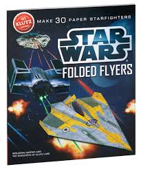 amazon com klutz star wars folded flyers make 30 paper