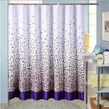 Dark Purple Shower Curtain Purple Shower Curtains Interior Design
