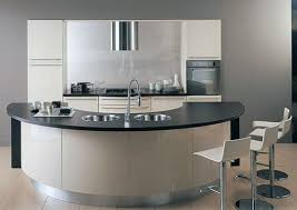 kitchen island units curved kitchen island
