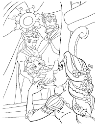 rapunzel coloring pages free coloring coloring