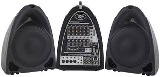 peavey pvi 10 10 pa speaker cabinet pair peavey pvi portable powered pa system sweetwater