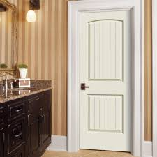 home depot interior doors prehung jeld wen 32 in x 80 in smooth 2 panel arch top v groove painted