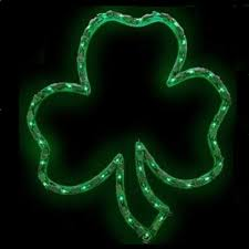 Lighted Halloween Garland by Lighted Shamrocks St Patricks Day Lighted Garland American Sale