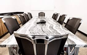 Quartz Conference Table St Johns Office Furniture Systems Custom Made In Usa Portland Or