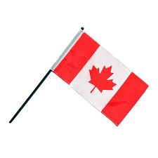 Single Flag Flying Colours International Canadian Flag Wavers Set Of 6