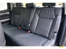 Toyota Tundra Interior Accessories Black Interior 2016 Toyota Tundra Platinum Crewmax 4x4 Photo