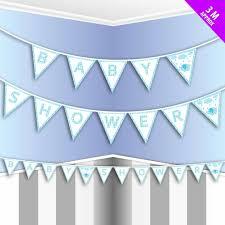 banner template printable flag baby shower pennant banner clip art