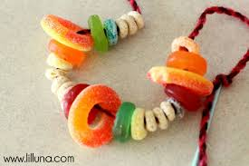 Edible Candy Jewelry Easy Kids Crafts Candy Bracelets