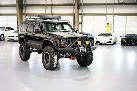 jeep cherokee stinger bumper xj black stage4 6 1 16 u2014 davis autosports