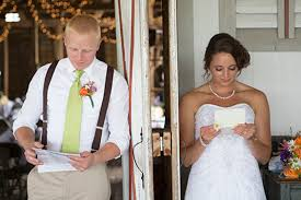 why you need to write a letter to the groom before the wedding