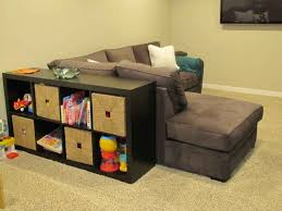 Kids Room Couch by Furniture Side Sofa Black Shelves For Toy And Storage Shelves For