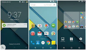 android 5 features on android 5 0 lollipop on the nexus 5