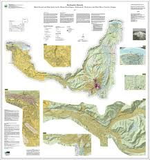 Oregon Time Zone Map by Dogami Multihazard And Risk Study For Mount Hood Background
