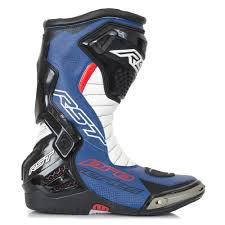 leather motorcycle riding boots rst pro series race mens motorcycle motorbike biking riding