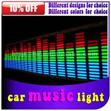 sale car decoration 3d led car logo stickers light led light