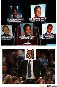 Miami Heat Memes - miami heat first five years of their age by satoong meme