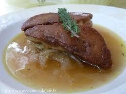 cuisine plaisir fr recettes de foie gras et oignons