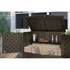 wicker patio storage diy outdoor storage ideas woohome 7 patio storage ideas