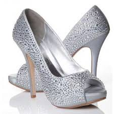 wedding shoes gauteng silver