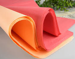 gift tissue paper coral tissue paper etsy