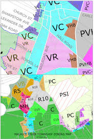 Zoning Map Maurice River Township Zoning Maps