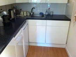 Chic Gloss White Kitchen Doors Glossy White Kitchen Cabinets - High gloss kitchen cabinet doors