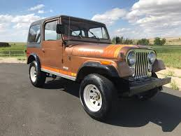 brown jeep cj7 renegade 1979 cj 7 renegade only 61k miles with the alpaca brown 9a paint