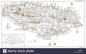 Map Jamaica Old Map Of Jamaica Stock Photos U0026 Old Map Of Jamaica Stock Images
